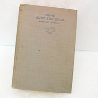 Vintage Book Gone With The Wind by WhimzyThyme on Etsy
