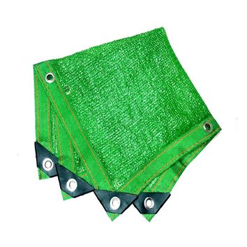 Edge punching  Various Size Green Sun Shelter  Shade Cover canopy cloth Six needles dense B1-210