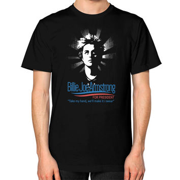 Billie joe armstrong Unisex T-Shirt (on man)