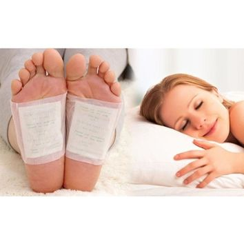 10 Detox Foot Pads Patch Detoxify Toxins with Adhesive ship from USA 5-9 days