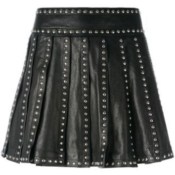Dsquared2 Studded Pleated Skirt - Farfetch