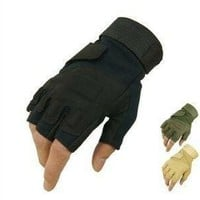 half finger Tactical Weather Shooting Military Cycling hunting Camping Sport Outdoor Game Gloves 3 color