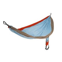 ENO Singlenest Hammock - Powder / Orange / Khaki
