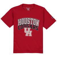 Houston Cougars Champion Youth T-Shirt - Red