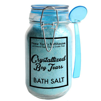 Crystallized Boy Tears Bath Salts
