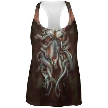 ICIK8UT Call of Cthulhu All Over Womens Work Out Tank Top