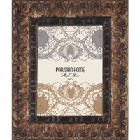 Home Accents High Shine Textured Distressed Picture Frame / Photo Frame 5 x 7 (Brown)