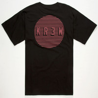 Kr3w Sundown Mens T-Shirt Black  In Sizes