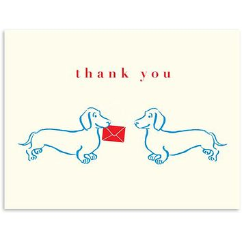 Doxie Thank you Card