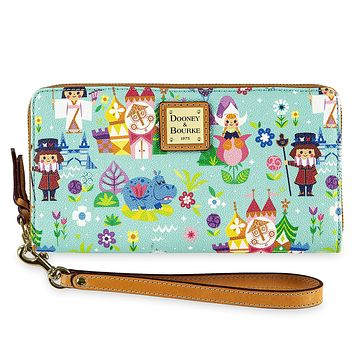 Disney It's a Small World Satchel by Dooney & Bourke Wallet Castle New