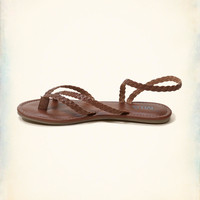 Girls Mia Braid Sandal | Girls Shoes & Accessories | HollisterCo.com