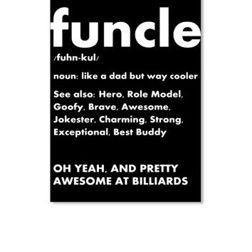 Funcle Billiards Fun Uncle Definition