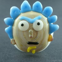 Rick and Morty Glass Pipe Rick Sanchez