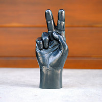 Graphite Hand: Peace Sign
