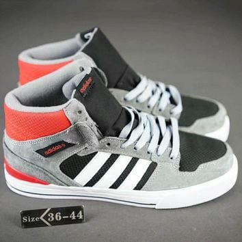 Adidas Neo Fashion Casual Sport Running Sneakers Shoes Grey G-SSRS-CJZX