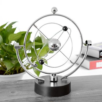 Kinetic Orbital Revolving Gadget Perpetual Motion Office Desk Art Decor Gift Toy