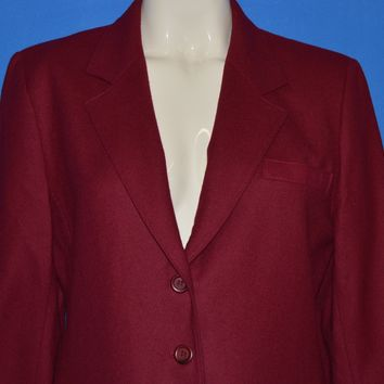 80s Pendleton Wool Women's Sports Jacket Large