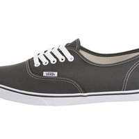 NEW WOMEN VANS AUTHENTIC LO PRO GRAY GREY PEWTER TRUE WHITE ORIGINAL SO AWESOME