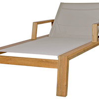 Avalon Lounger with Armrests