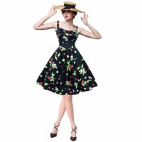 Ball Gown Skirt Rockabilly Style Dress