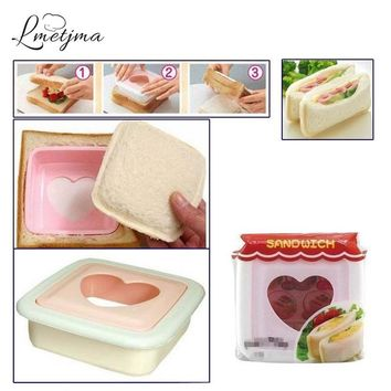 LMETJMA Pocket Sandwich Mold Maker Diy Bento Balls Toast Baby Cake Bread Machine Cooking Tool Kitchen Supplies Sushi Accessories