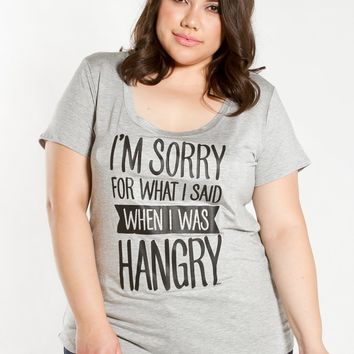 Sorry Hangry Graphic Tee