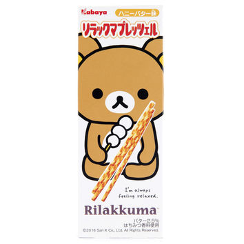 Japan Centre - Kabaya Rilakkuma Honey Butter Pretzel Sticks - Biscuits