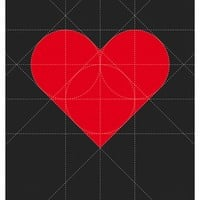 """""""Shape Of My Heart"""" - Art Print by Simon C Page"""