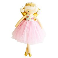 ALIMROSE WILLOW FAIRY DOLL BLUE PINK
