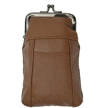 High quality genuine leather cigarette case