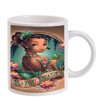 Gift Mugs | Tattooed Disney The Princess And The Frog Ceramic Coffee Mugs