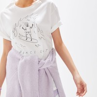 MNKR Peace Out Tee | Urban Outfitters