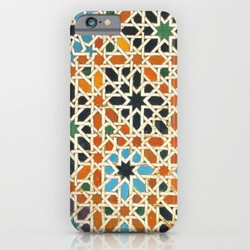 Details of Lindaraja in the Alhambra iPhone & iPod Case by Guido Montañés