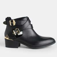 Scoundrel Cut-Out Buckled Boots