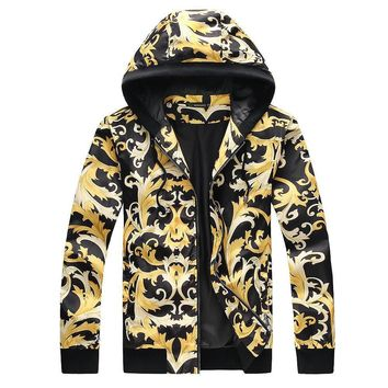 Versace Cardigan Jacket Coat-4