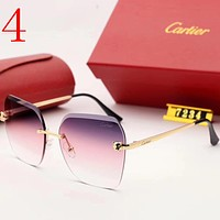 Cartier Fashion Women Summer Sun Shades Eyeglasses Glasses Sunglasses