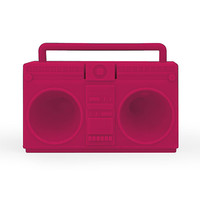 Kikkerland Boombox Speaker Pink One Size For Men 23083935001