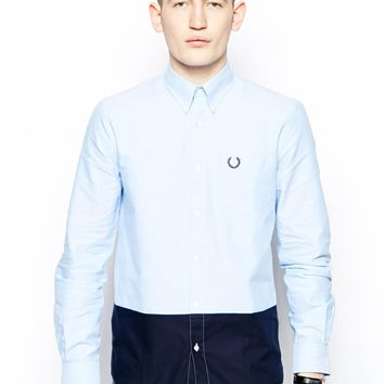 Fred Perry Laurel Wreath Shirt with Block Colo