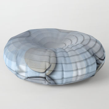 Lynch Concentric Circles Floor Pillow by deluxephotos