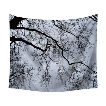 Snowy Tree Tapestry