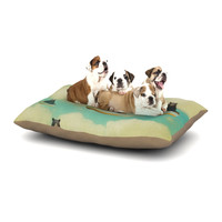 "Natt ""Bears"" Floating Animals Dog Bed"