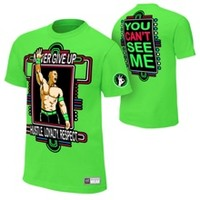 "John Cena ""Neon Green"" Women's Authentic T-Shirt"