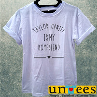 Low Price Women's Adult T-Shirt - Taylor Caniff is My Boyfriend design