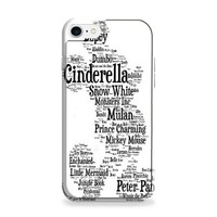 Disney Words Collage iPhone 7 | iPhone 7 Plus Case