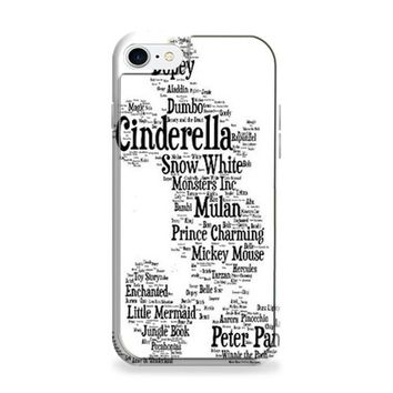 Disney Words Collage iPhone 6 | iPhone 6S Case