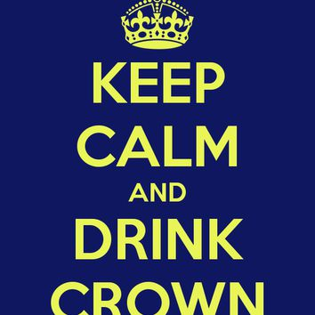 Keep Calm and Drink Crown, Tank Top