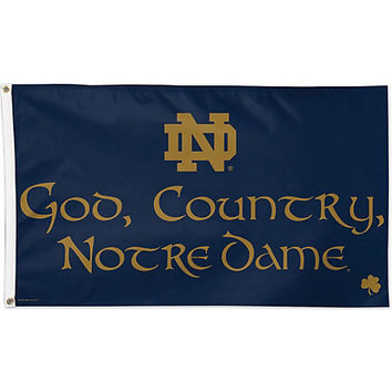 A1532B God, Country, Notre Dame Flag