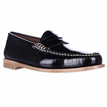 Weejuns G.H. Bass & Co. Whitney Penny Loafers - Black Patent