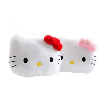 1pc 40cm Lovely Juguetes Pillow Soft Stuffed Hello Kitty Popular Plush Toys Cushion Soft Toy For Kid Girl's Gift
