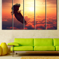 African bird, eagle photo, Eagle canvas, African eagle, wall art, Art Nature Wall, Wall Art Animals Canvas, Wild Animals, eagle in the sky
